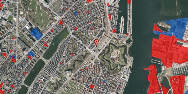 Jordforureningskort på Østbanegade 5, 1. th, 2100 København Ø