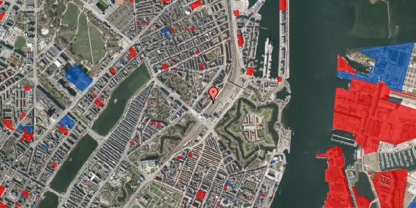 Jordforureningskort på Østbanegade 7, st. th, 2100 København Ø