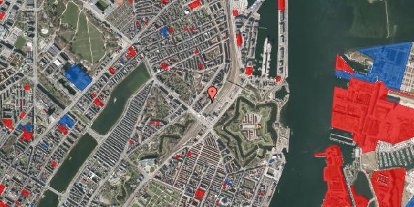 Jordforureningskort på Østbanegade 7, 1. tv, 2100 København Ø