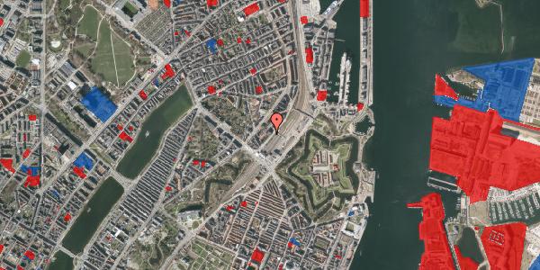 Jordforureningskort på Østbanegade 9, 1. th, 2100 København Ø