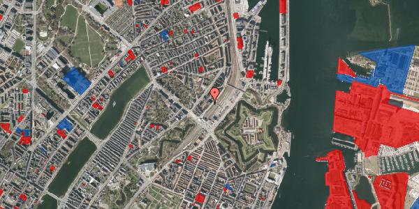 Jordforureningskort på Østbanegade 9, 4. , 2100 København Ø