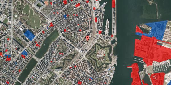 Jordforureningskort på Østbanegade 11, 3. th, 2100 København Ø