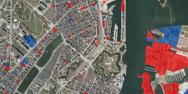 Jordforureningskort på Østbanegade 15, 1. tv, 2100 København Ø