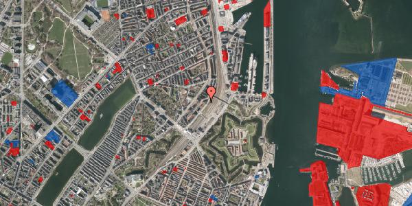 Jordforureningskort på Østbanegade 17, kl. mf, 2100 København Ø