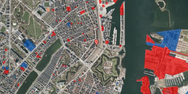 Jordforureningskort på Østbanegade 19, 3. th, 2100 København Ø