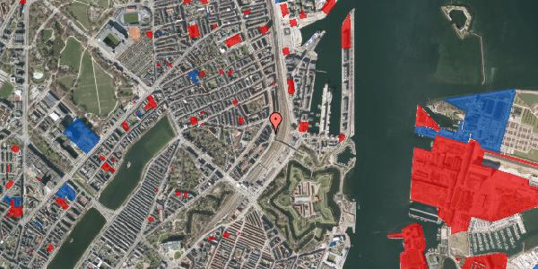 Jordforureningskort på Østbanegade 21, 1. th, 2100 København Ø