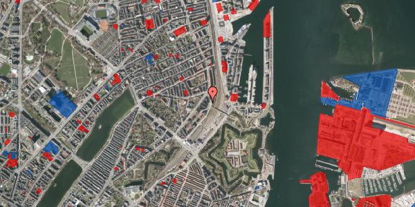 Jordforureningskort på Østbanegade 21, 5. , 2100 København Ø