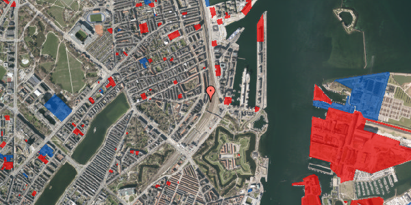 Jordforureningskort på Østbanegade 23, kl. tv, 2100 København Ø