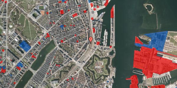 Jordforureningskort på Østbanegade 23, st. tv, 2100 København Ø