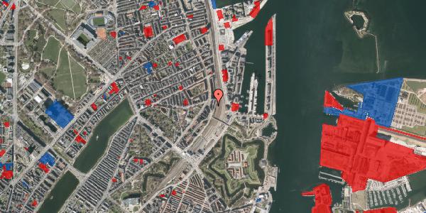 Jordforureningskort på Østbanegade 25, 1. th, 2100 København Ø