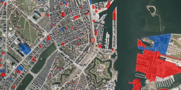 Jordforureningskort på Østbanegade 27, kl. , 2100 København Ø