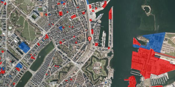 Jordforureningskort på Østbanegade 27, 1. th, 2100 København Ø