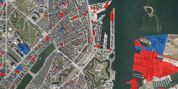 Jordforureningskort på Østbanegade 29, st. tv, 2100 København Ø