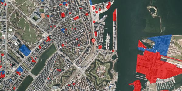 Jordforureningskort på Østbanegade 29, 1. th, 2100 København Ø