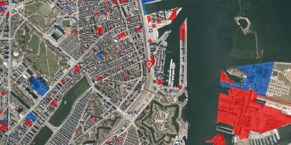 Jordforureningskort på Østbanegade 33, st. 1, 2100 København Ø