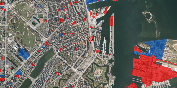 Jordforureningskort på Østbanegade 37, 1. 4, 2100 København Ø