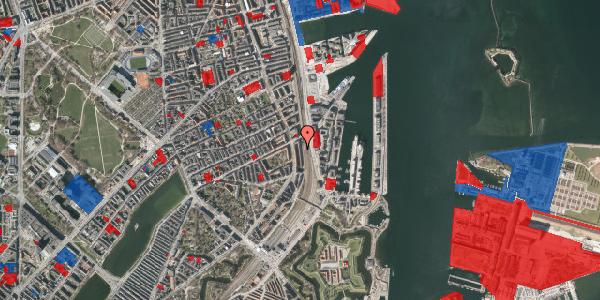 Jordforureningskort på Østbanegade 43, st. 2, 2100 København Ø