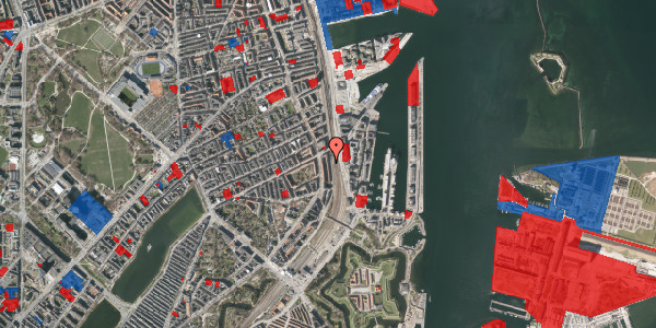 Jordforureningskort på Østbanegade 43, 2. 3, 2100 København Ø