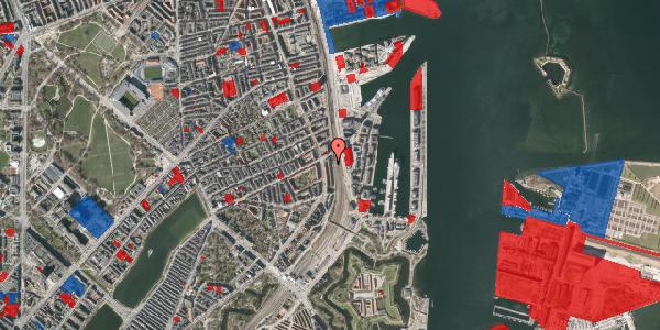 Jordforureningskort på Østbanegade 45, 5. th, 2100 København Ø