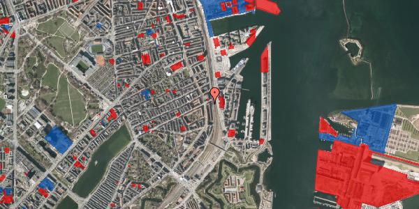 Jordforureningskort på Østbanegade 47, 3. th, 2100 København Ø