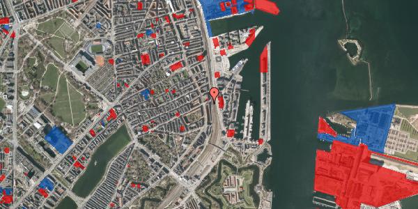 Jordforureningskort på Østbanegade 47, 4. tv, 2100 København Ø