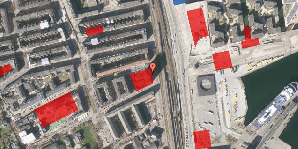 Jordforureningskort på Østbanegade 103, 6. 62, 2100 København Ø