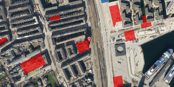 Jordforureningskort på Østbanegade 103, 8. 84, 2100 København Ø