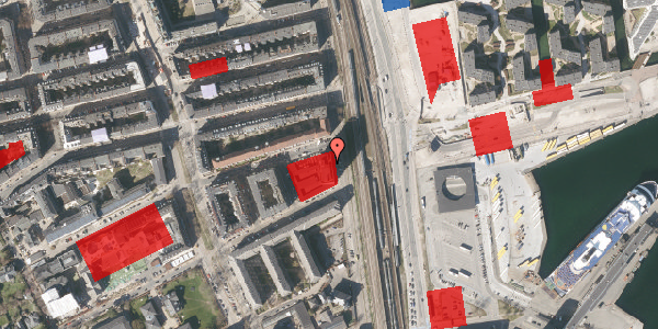 Jordforureningskort på Østbanegade 103, 12. 128, 2100 København Ø