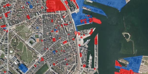 Jordforureningskort på Østbanegade 105, 2. tv, 2100 København Ø