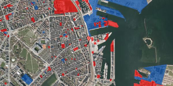 Jordforureningskort på Østbanegade 105, 3. tv, 2100 København Ø