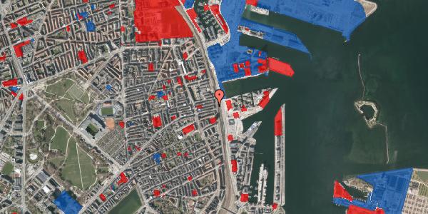 Jordforureningskort på Østbanegade 111, 1. th, 2100 København Ø