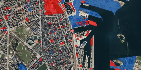 Jordforureningskort på Østbanegade 113, 1. th, 2100 København Ø