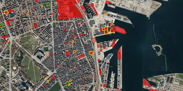 Jordforureningskort på Østbanegade 113, 3. th, 2100 København Ø