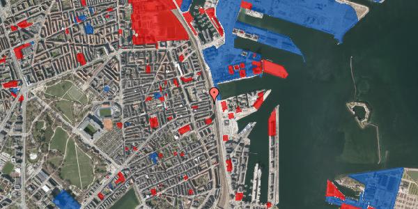 Jordforureningskort på Østbanegade 113, 5. , 2100 København Ø