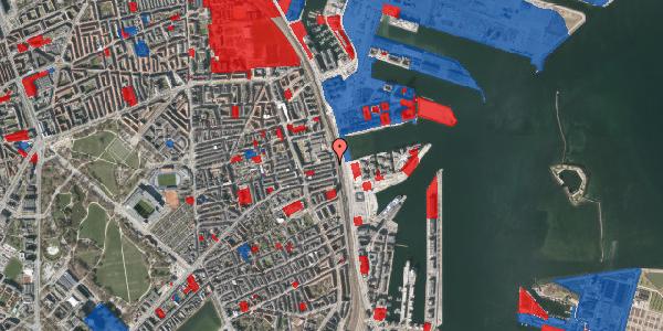 Jordforureningskort på Østbanegade 115, st. , 2100 København Ø