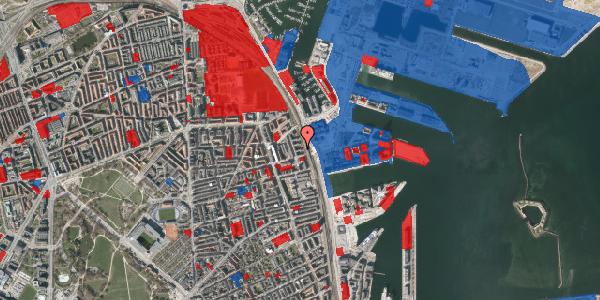 Jordforureningskort på Østbanegade 145, 4. th, 2100 København Ø