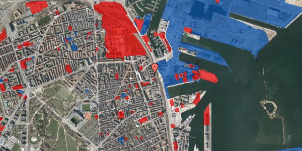 Jordforureningskort på Østbanegade 149, 4. th, 2100 København Ø