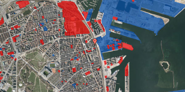 Jordforureningskort på Østbanegade 149, 5. tv, 2100 København Ø