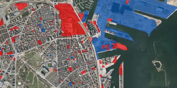 Jordforureningskort på Østbanegade 151, 1. tv, 2100 København Ø