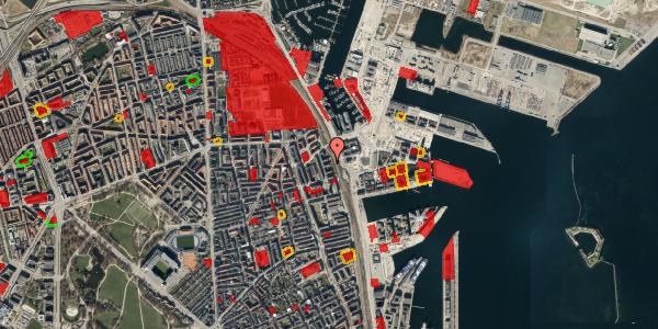 Jordforureningskort på Østbanegade 151, 5. th, 2100 København Ø