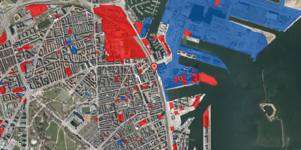 Jordforureningskort på Østbanegade 153, 1. th, 2100 København Ø