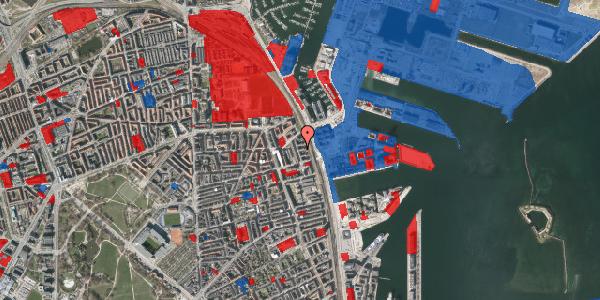 Jordforureningskort på Østbanegade 155, 3. th, 2100 København Ø