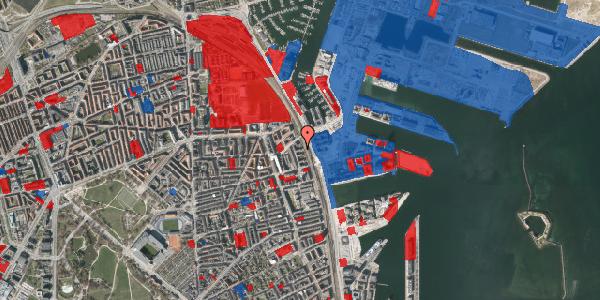 Jordforureningskort på Østbanegade 157, 4. th, 2100 København Ø