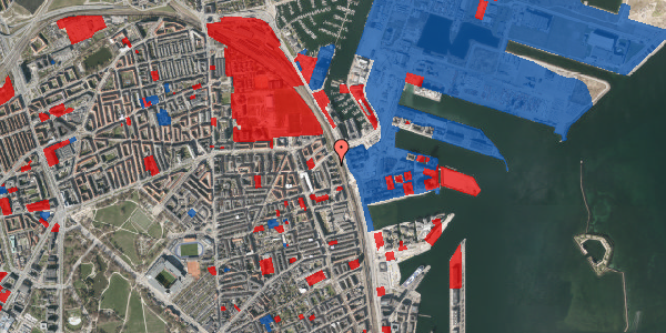 Jordforureningskort på Østbanegade 157, 4. tv, 2100 København Ø