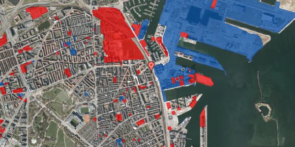 Jordforureningskort på Østbanegade 159, 1. th, 2100 København Ø