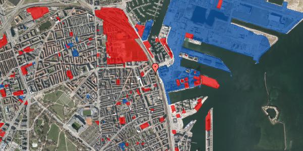 Jordforureningskort på Østbanegade 159, 3. th, 2100 København Ø