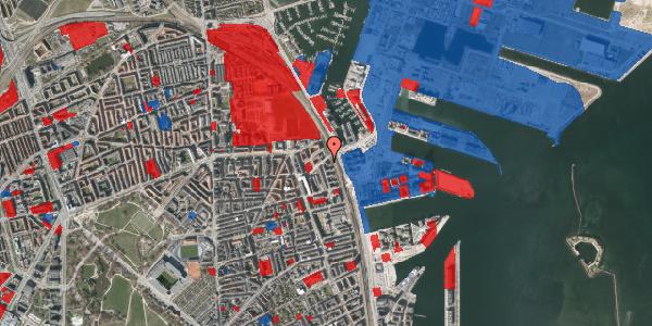 Jordforureningskort på Østbanegade 167, 3. tv, 2100 København Ø