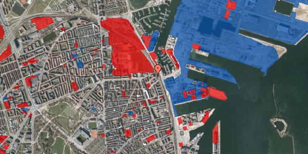 Jordforureningskort på Østbanegade 175, 3. tv, 2100 København Ø