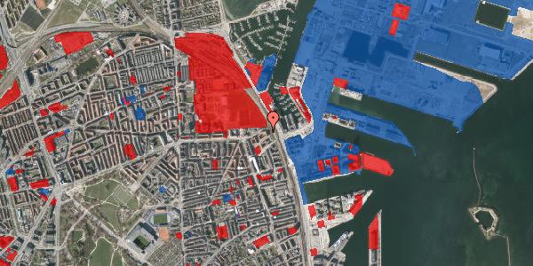 Jordforureningskort på Østbanegade 177, 1. th, 2100 København Ø