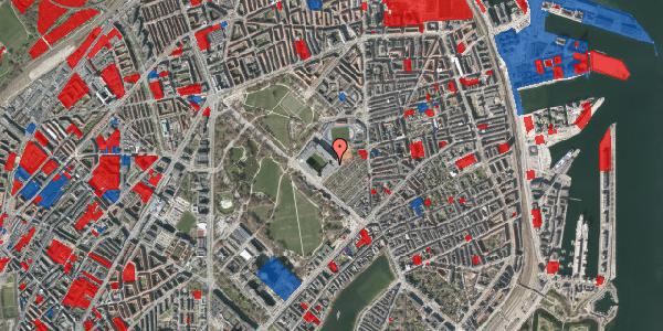Jordforureningskort på Øster Allé 46, 1. , 2100 København Ø